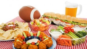 superbowl food large